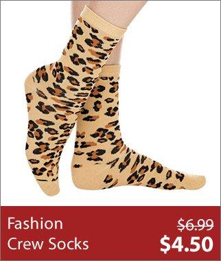Fashion Crew Socks