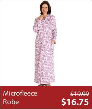 Microfleece Robe