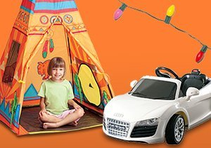 Big Fun: Tents, Teepees & Ride-Ons