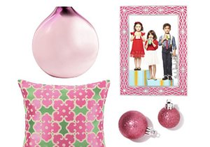 Très Chic in Pink: Décor Accents