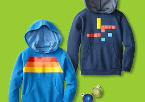 Just $28: Graphic Fleece for Boys