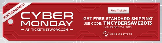 Cyber Monday Extended - Get Free Standard Shipping with code: TNCYBERSAVE2013