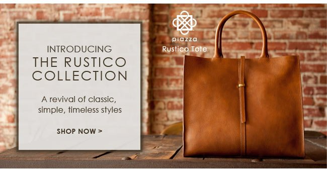 Introducing the Rustico Collection | Shop Now