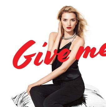GIVE ME GLITZ