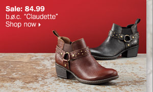 """b.ø.c. """"Claudette"""". Shop  now."""