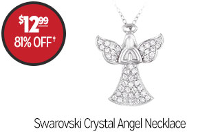 Swarovski Crystal Angel Necklace - $12.99 - 81% off‡