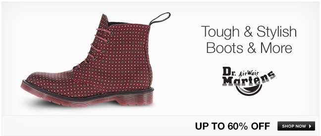 Tough and Stylish Boots and More