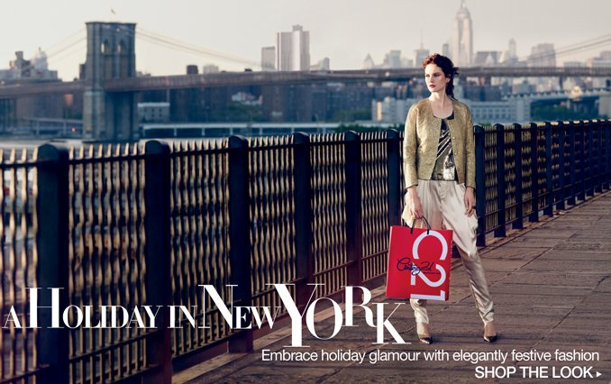 Shop The Look: New York Holiday
