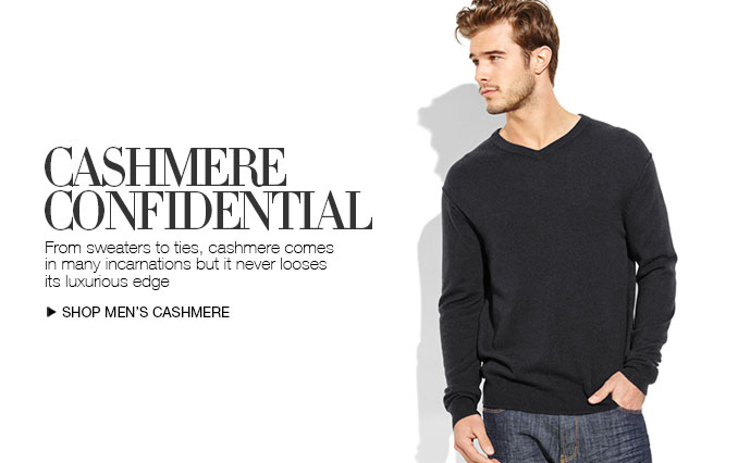 Shop Cashmere Sweaters for Men