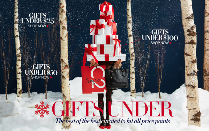 Shop Gifts Under $100, $50 or $25
