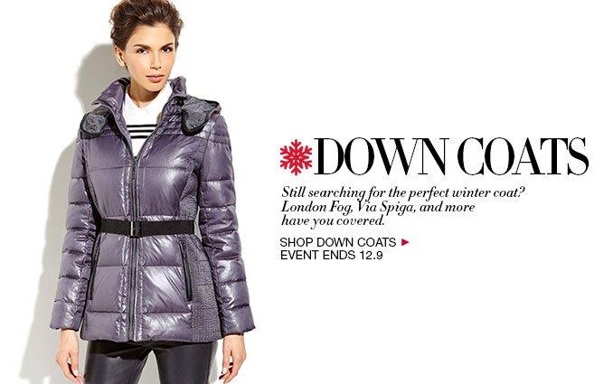 Shop Down Coats for Women
