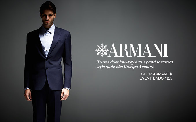 Shop Armani Suits for Men