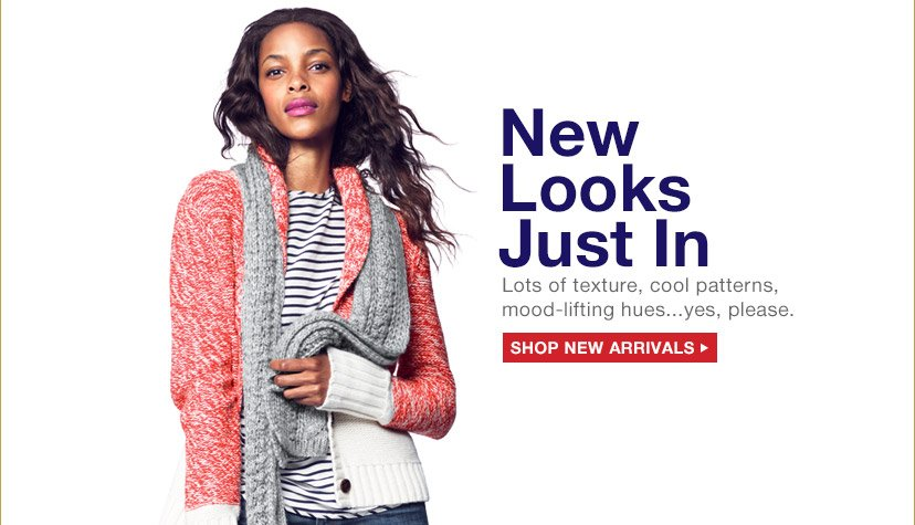 New Looks Just In | SHOP NEW ARRIVALS