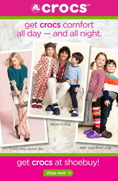Shop the Crocs Collection!