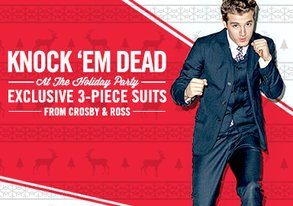 Shop Crosby & Ross: Exclusive 3pc Suits