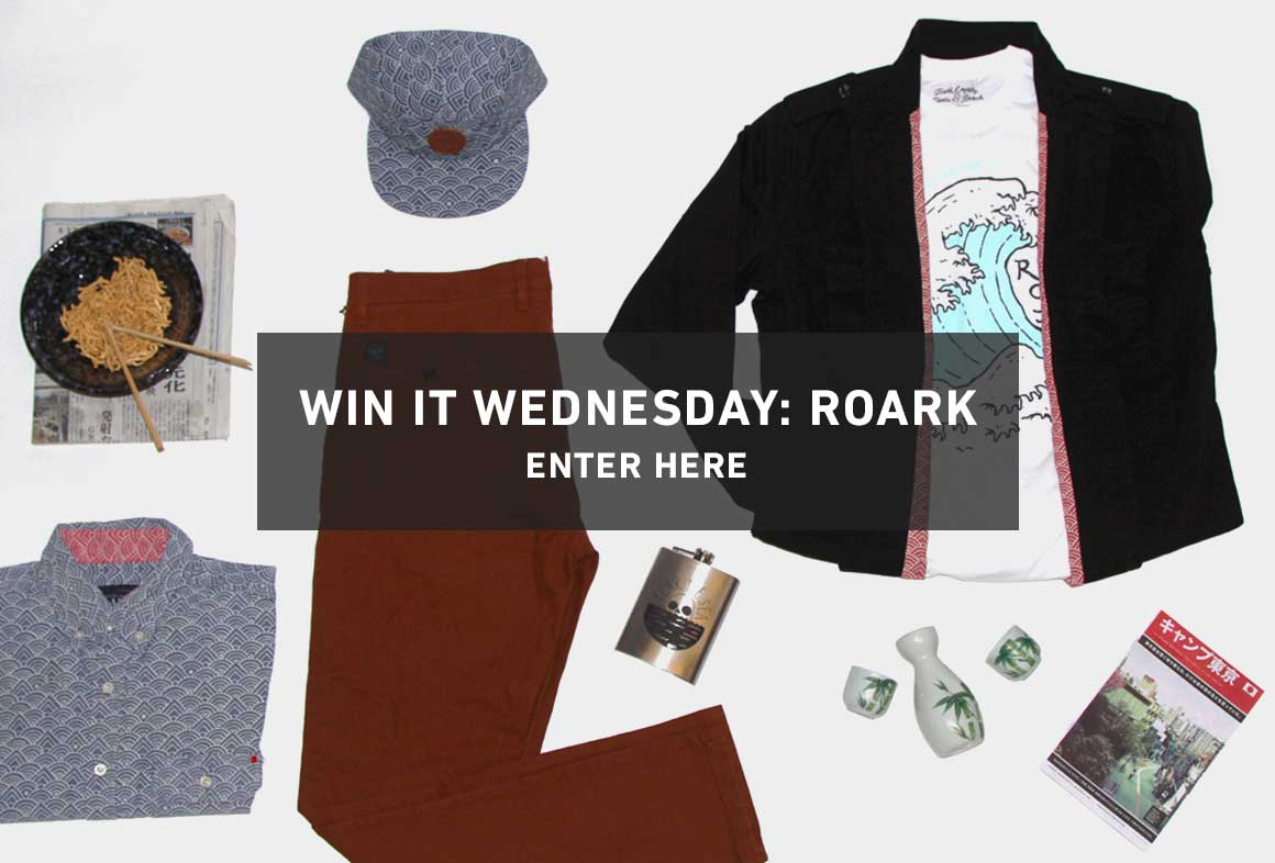 Enter To Win Your Favorites from ROARK