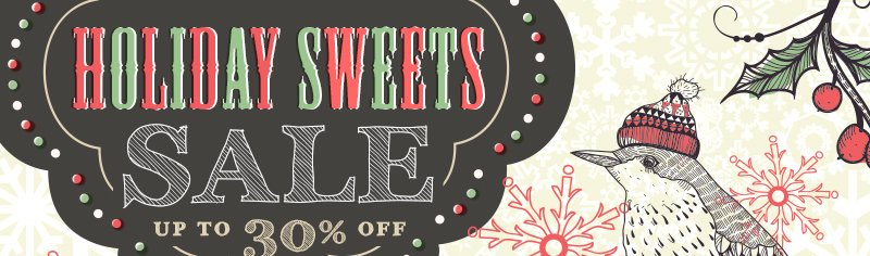 Holiday Sweets Sale Up To 30% Off