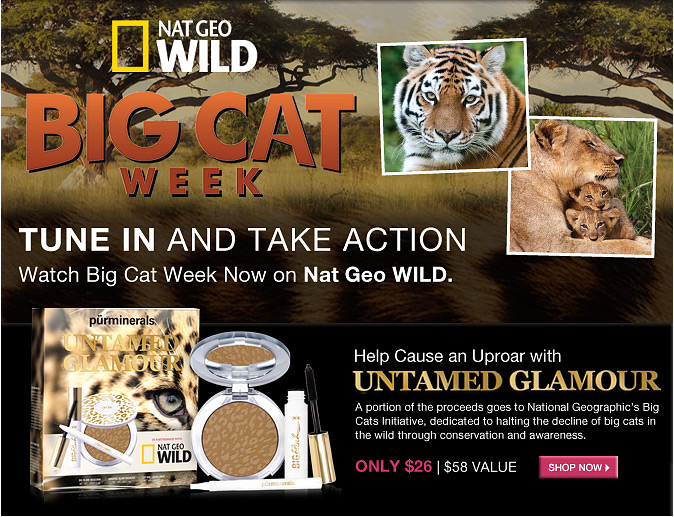 Tune In and Take Action--Watch Big Cat Week Now on Nat Geo WILD.