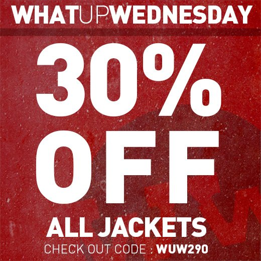 30% Off All Jackets