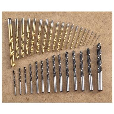 214-Pc. Yukon Tool® Titanium-coated Drill Bit Set