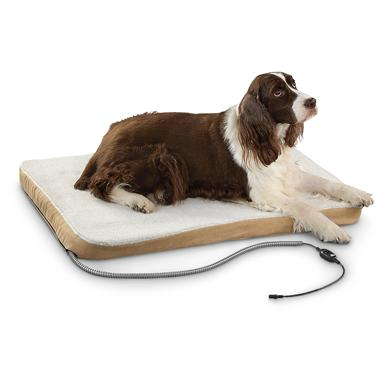 Comfort Ease® Large Heated Pet Bed