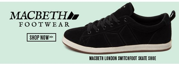 Shop the Macbeth London Switchfoot Skate Shoe