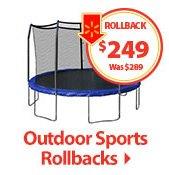 Outdoor Sports Rollbacks