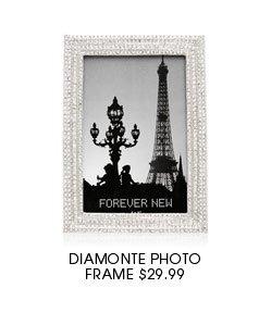 Diamonte Photo Frame