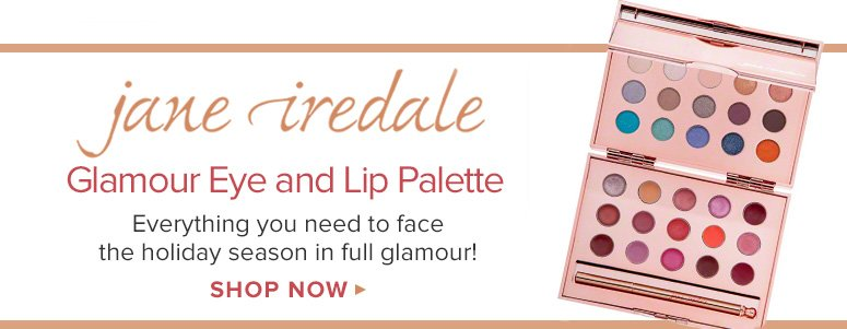jane iredale Glamour Eye and Lip PaletteEverything you need to face the holiday season in full glamour! Shop Now>>