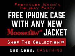 Free moosejaw cell phone case with any new moosejaw jacket