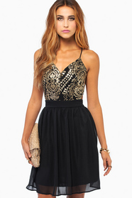 Twisted Nights Dress
