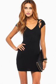 Tangled Web Bodycon Dress