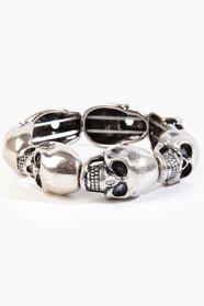 Iron Age Skull Bracelet
