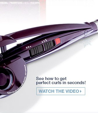 Perfect Curls in Seconds - Watch Now