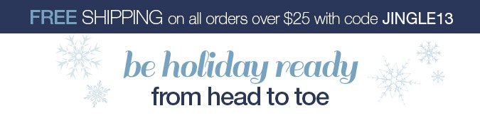 FREE SHIPPING on All Orders Over $25. No Coupon Required.
