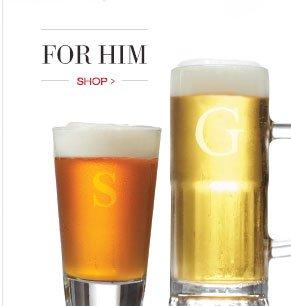 FOR HIM | SHOP >