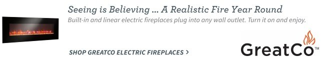 GreatCo Electric Fireplaces