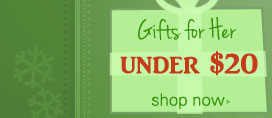 Shop gifts for her under $20
