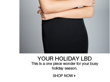 Your Holiday LBD
