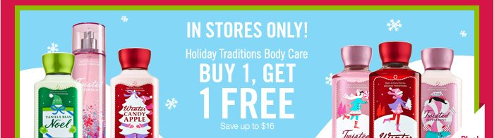 Holiday Traditions – Buy 1, Get 1 Free