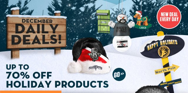 December Daily Deals: Holiday Merchandise