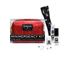 MINIMERGENCY GLITTER MINI RED KIT