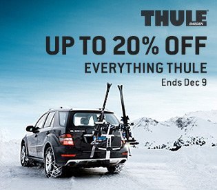 Up to 20% Off Everything Thule