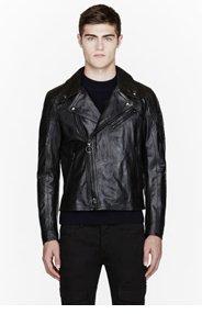 BELSTAFF Black leather Kilbourne biker jacket for men