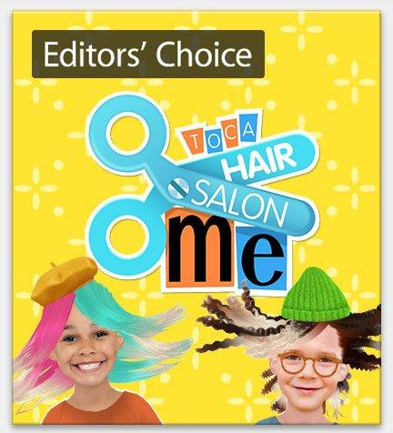 Editors' Choice Game: Toca Hair Salon Me