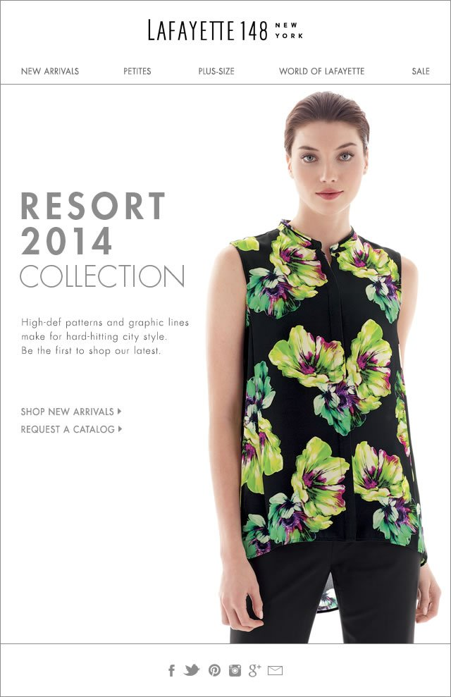 NEW: Resort 2014 Collection