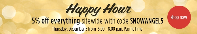 Happy Hour 5% Off Everything