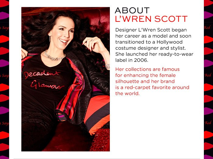 ABOUT L'WREN SCOTT