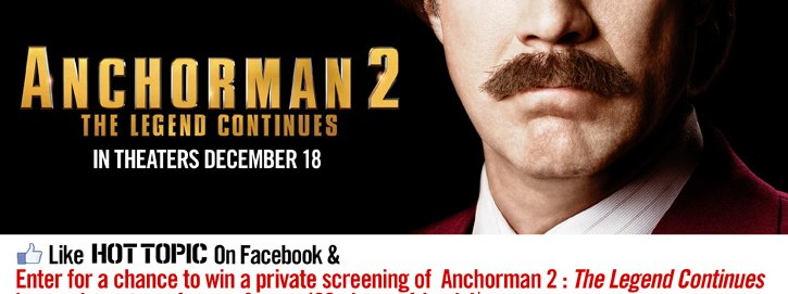 ANCHORMAN 2 - THE LEGEND CONTINUES IN THEATERS DECEMBER 18