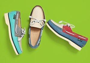 Resort Wear: Canvas & Boat Shoes